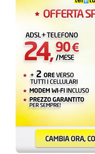 TELEFONO + ADSL